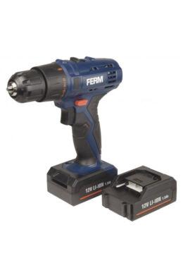 Akkumulátoros fúró, 12 V, 2 akkumulátorral FERM CDM1119