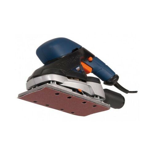 Ferm vezetékes rezgőcsiszoló, 187×92 mm, 1,5 kg, 180 W | FDOS-150 (PSM1024)